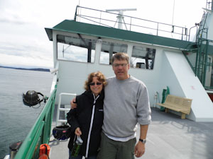 Us on Ferry