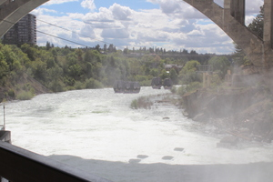 Spokane Falls, Spokane, Washington