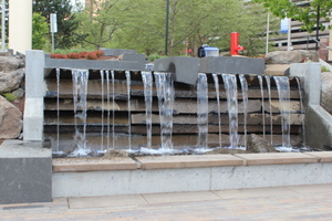 Water Feature, Riverfront Park, Spokane, Washington