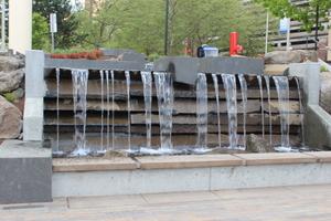Water Feature, Riverfront Park, Spokane, Washington