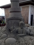 Sand Sculpture at SandSations, Long Beach, WA