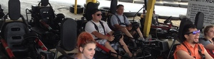 Josh & David Ready To Go On Go Karts, Long Beach, WA