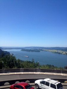 Crown Point View West, Oregon