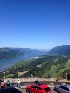 Crown Point View East, Oregon