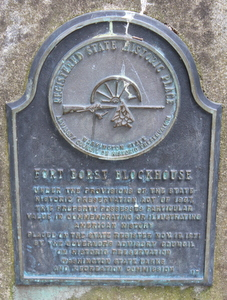 Fort Borst Historical Marker, Centralia, Washington
