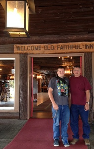 Welcome! Old Faithful Inn, Yellowstone National Park
