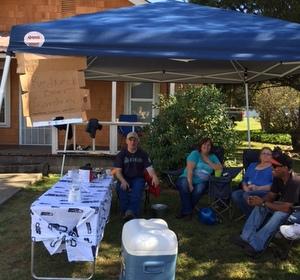 Redneck Beer Garden, Apple Harvest Festival, Onalaska, WA