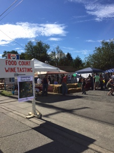 Food Court, Apple Harvest Festival, Onalaska, WA