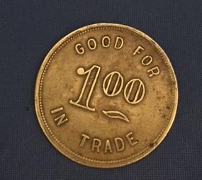 Other Side of Onalaska Lumber Co. Coin, Onalaska WA
