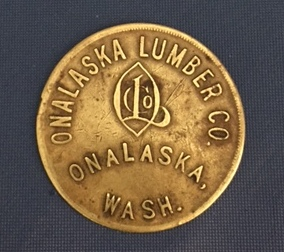 Onalaska Lumber Co. Coin