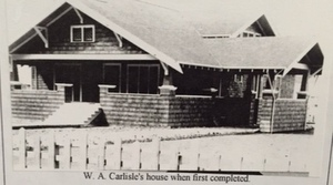 Carlisle House when built in 1915, Onalaska WA