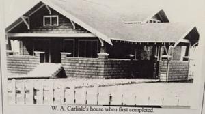 Carlisle House when built in 1915, Onalaska WA