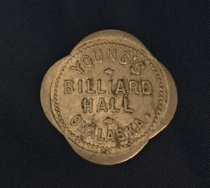 Pool Hall Coin, Onalaska WA