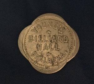 Pool Hall Coin, Onalaska WA