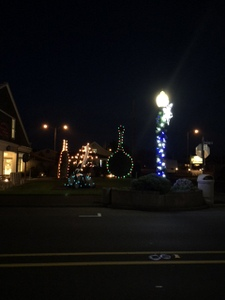 Long Beach, Washington Christmas Lights
