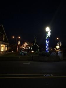 Long Beach, Washington Christmas Lights