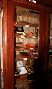 Humidor in Kells Irish Pub, Portland, Oregon