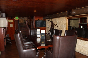 In the Cigar Room, Kells Irish Pub, Portland, Oregon