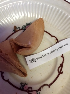 A great fortune!, Shanghai Cafe, Centralia, Washington