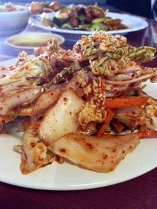 Kimchi, Shanghai Cafe, Centralia, Washington
