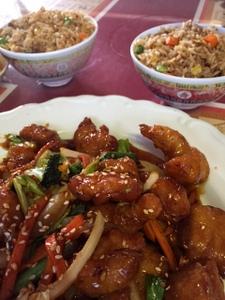 Special Garlic Chicken, Shanghai Cafe, Centralia, Washington