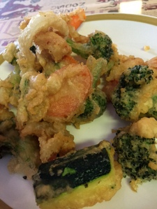 Tempura Veggies, Shanghai Cafe, Centralia, Washington