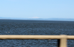 Mt. St. Helens from the Astoria-Megler Bridge