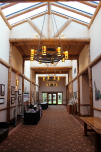 Hallway to Meeting Rooms, Sunriver, Oregon