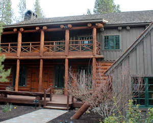 Outside the Great Hall, Sunriver, Oregon
