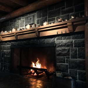 Stone Fireplace, Sunriver, Oregon