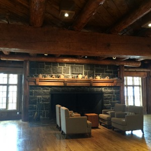 Fireplace Sitting Area, Sunriver, Oregon