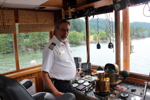 Captain Michael Cain, Columbia Gorge Sternwheeler