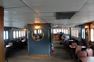 Inside the Sternwheeler, Columbia Gorge Sternwheeler