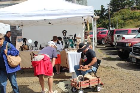 Vendor at Dory Days, Pacific City, Oregon