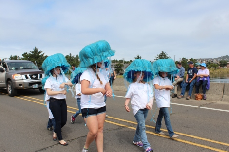 Creative jelly fish! Dory Days, Pacific City, Oregon